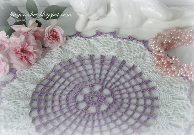 Lacy Crochet: Crochet Doily #6621, Free Vintage Pattern