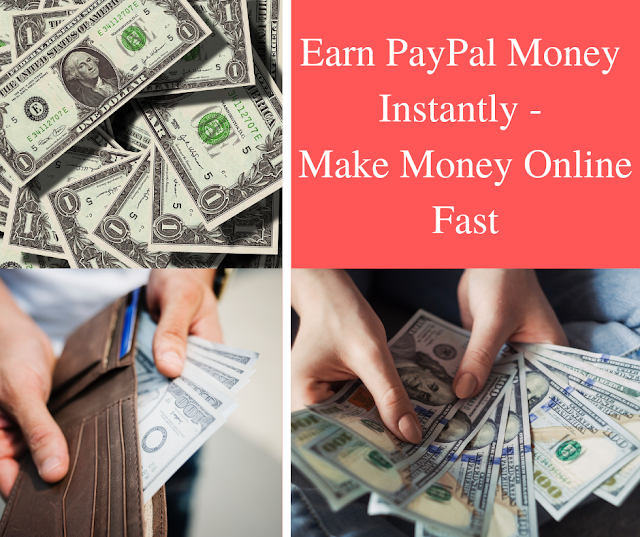 23 quick ways to earn money online through PayPal