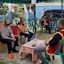 Sampaikan Pesan Kamtibmas, Bripka Yuliman Zendrato Sambangi KPU Gusit