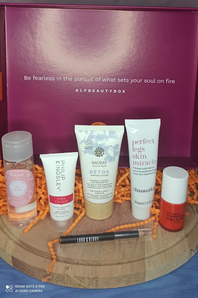 My first Lookfantastic box November