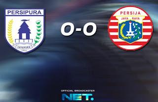 Persipura vs Persija Imbang 0-0 Grup B Piala Bhayangkara 2016