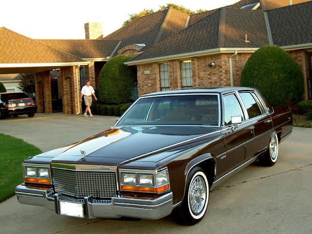 Cadillac Fleetwood Brougham 8-6-4
