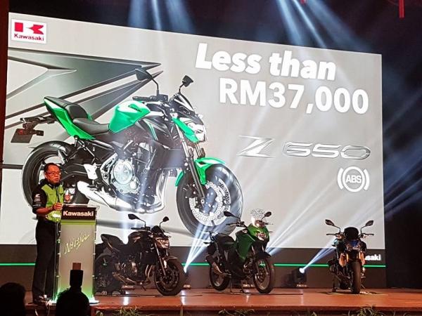 Harga Z650 RM37,000