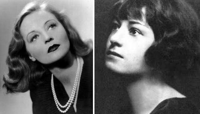A atriz Talullah Bankhead e a escritora Dorothy Parker, membros da Round Table do Hotel Algonquin