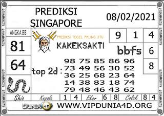 Prediksi Togel SINGAPORE DUNIA4D 08 FEBRUARI 2021