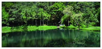 Wisata Alam Situ Cibeuereum Garut