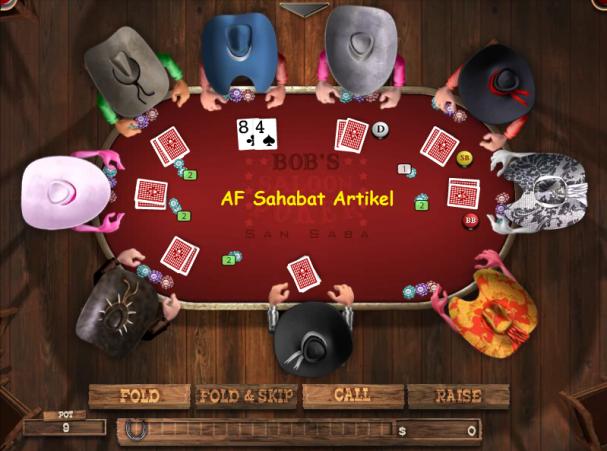 Game poker online buat e63
