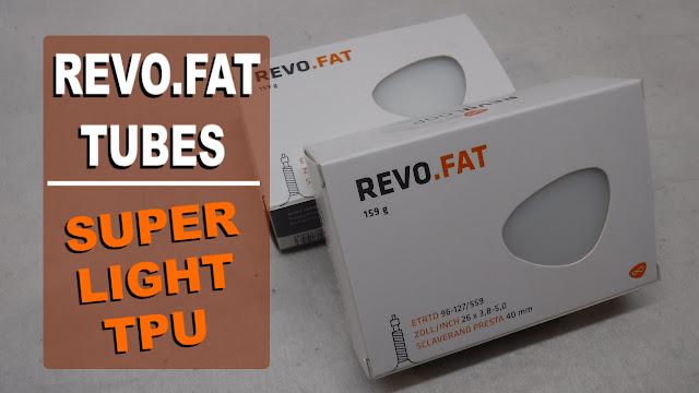 Revoloop TPU tubes REVO.FAT Review Fat Bike Tube TPU Tube Clear Tube Fatbike Republic Fat Bike Fatbike Newfoundland