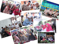 Lampiran Dokumentasi Foto Kegiatan PHBI Maulid Nabi Muhammad SAW 1440H SMKN 3 Depok