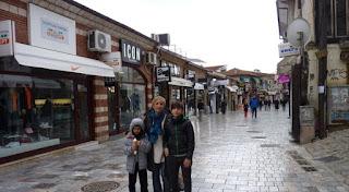 Ohrid, Bulevar Makedonski.