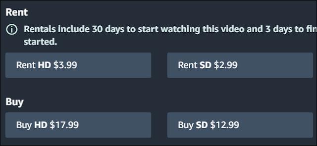 تقوم أمازون بفرض أسعار مختلفة على نسخ HD و SD من Toy Story 3