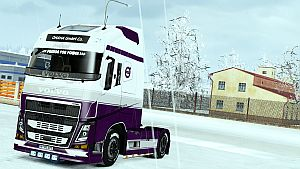 Volvo Holland skin for Volvo 2013