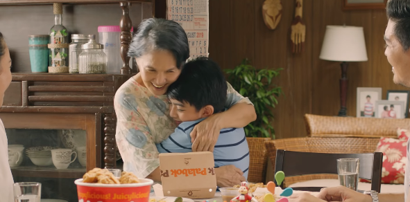Jollibee warms hearts with ad about 'kuripot' grandma who's full of love