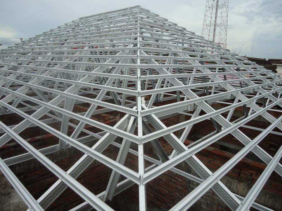 harga baja ringan kencana semarang rangka atap