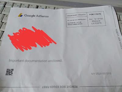 Google Adsense 10 USD