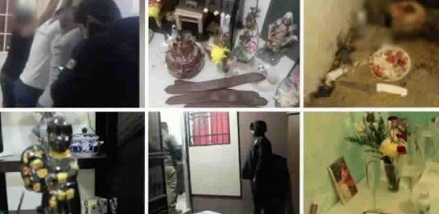 Para abatir a Sicarios rivales, narcos son encontrados haciendo brujería y satanismo