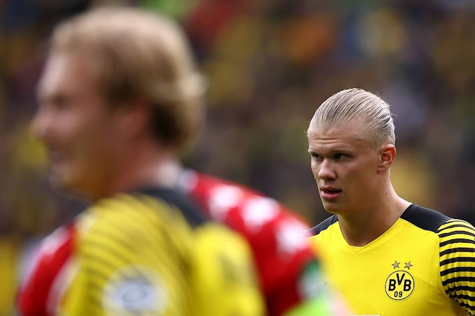 Borussia Dortmund perderá Haaland por cerca de um mês com lesão no quadril