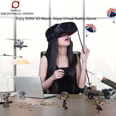 Prueba ya las gafas de realidad virtual Deepoon E2