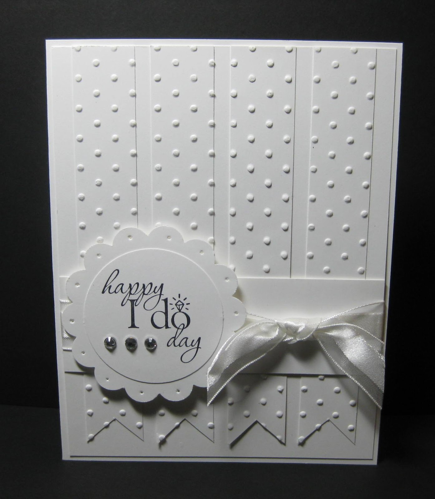 Wedding Ideas On Pinterest: Momma B Stampin': A Wedding Card From Pinterest