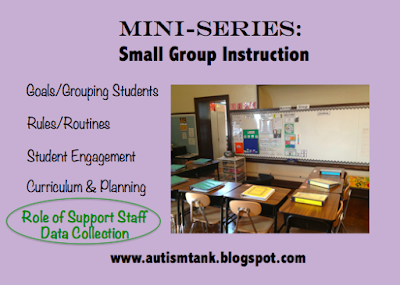 Mini Series: Small Group Instruction Data Collection and Role of Support Staff