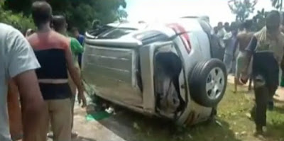 Kashipur road accident