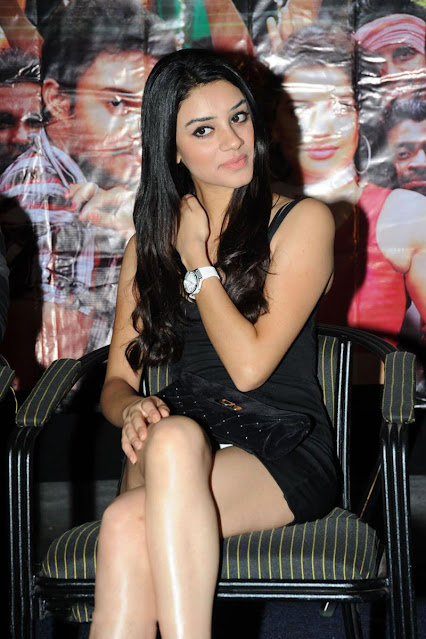 Telugu Actress Anchal Singh Latest Stills In Black Dress Actress Trend