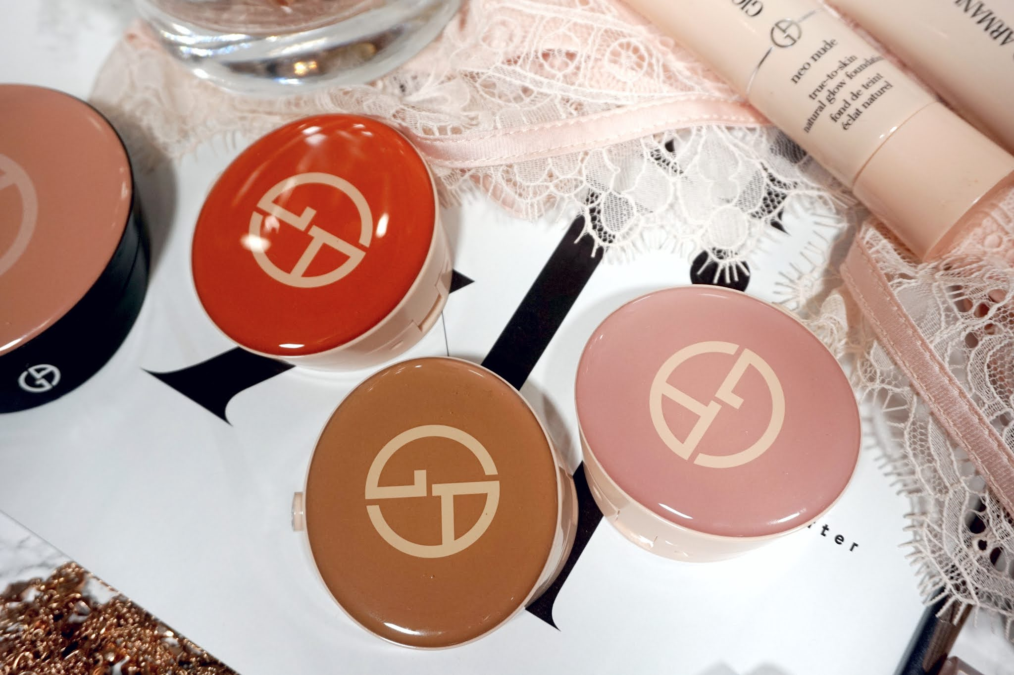 Giorgio Armani Neo Nude Melting Color Balm Review and Swatches