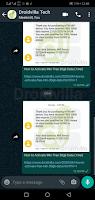 Whatsapp forward image caption