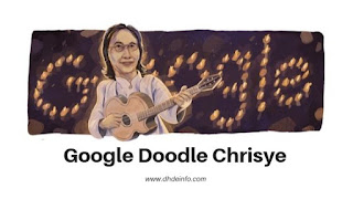 Google Doodle Chrisye : Untuk Mengenang 70 Yahun Chrisye