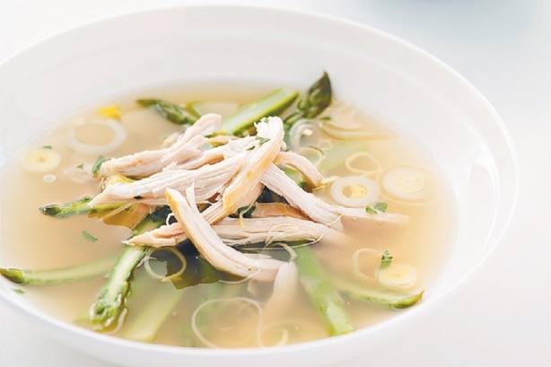 Resep Sup Chicken Asparagus