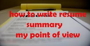 images of write summary