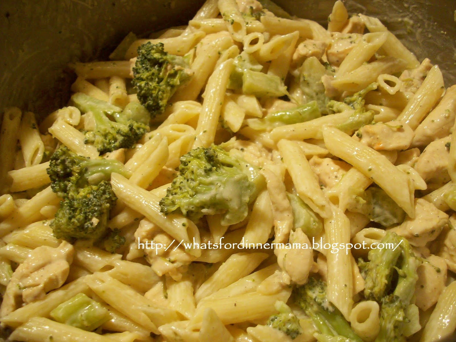 Chicken Penne Pasta With Broccoli