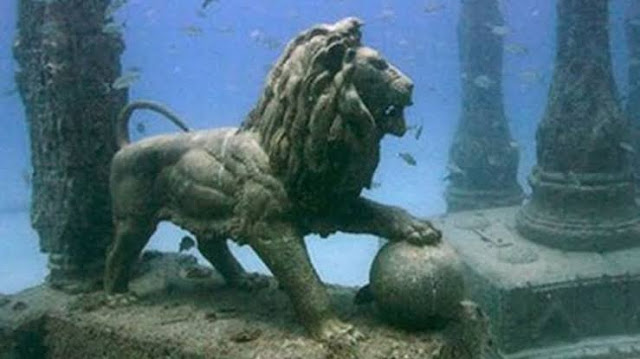 The mythical city of dwarka under water, dwaraka under water, a1facts SOME FACTS ABOUT DWARKA CITY