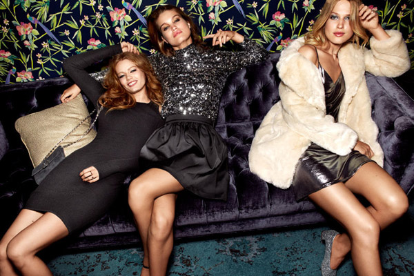 Colección de moda fiesta para mujer de H&M