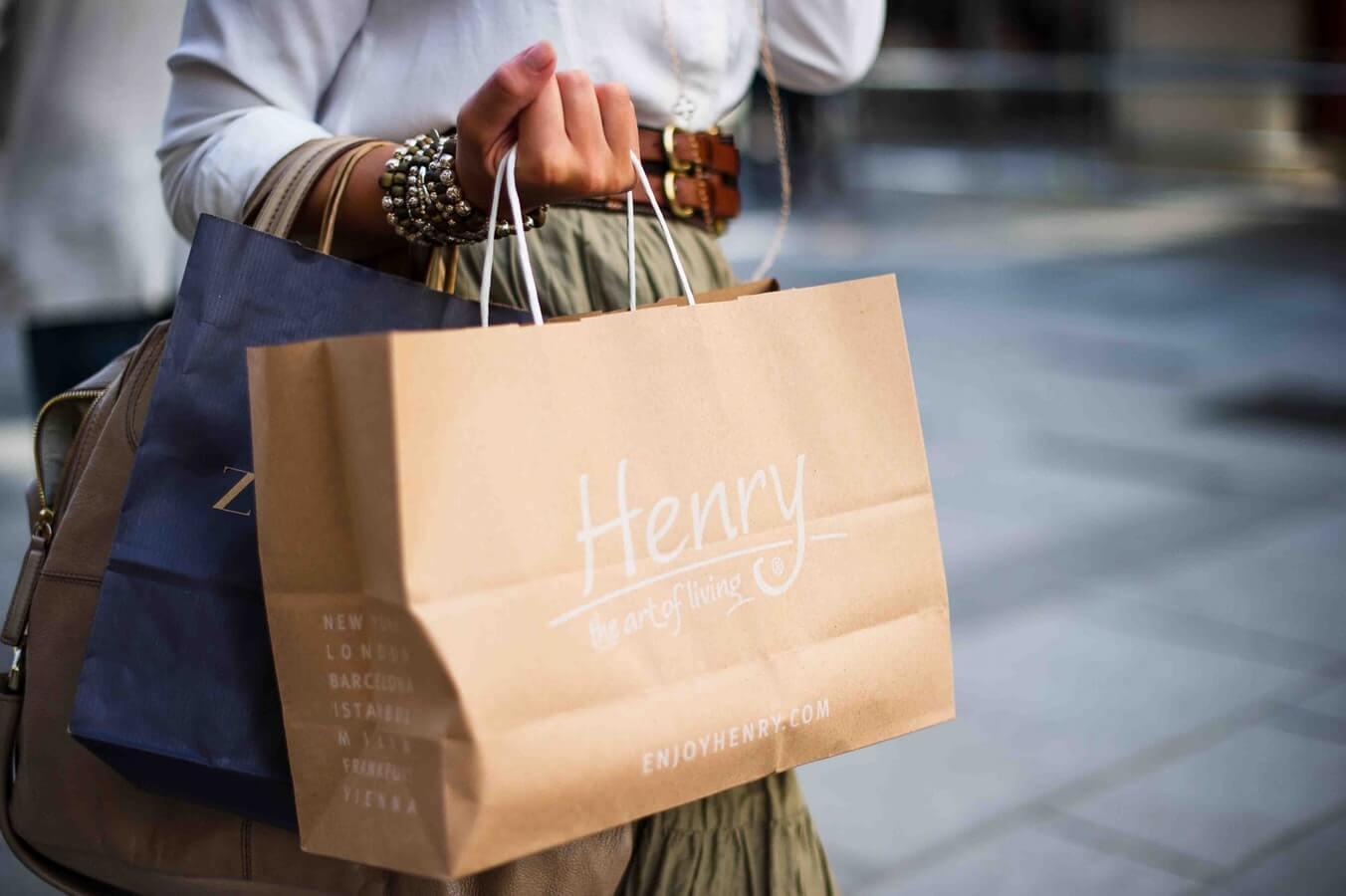 Shopping Abroad Shopping Bags