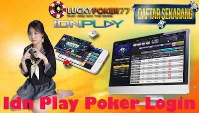 Idn Play Poker Login