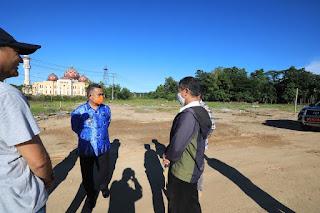 Wali Kota Tarakan Pelakukan Peninjauan ke Sekitaran Kawasan Pelabuhan di Kelurahan Pamusian - Tarakan Info