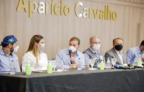 Hildon Chaves pede remessas extras de vacina ao ministro da Saúde