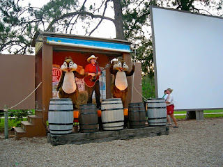 Sing a long campfire with chip and dale at fort wilderness orlando, fl
