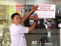 Sudah diperingati Salah Satu Hotel di Jalan Pengayoman tetap membandel