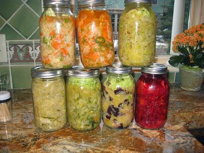 H πεμπτουσία της αντιγήρανσης: Ζυμωμένα λαχανικά, κεφίρ από καρπούς και προβιοτικά
