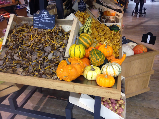 Produce at Lafayette Gourmet, Paris