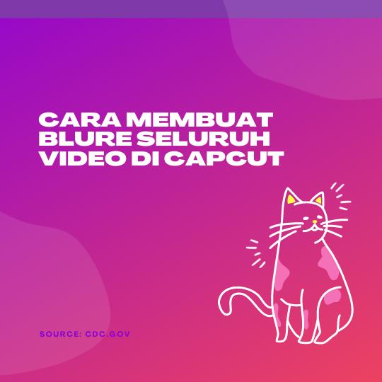 Cara Membuat Blure Seluruh Video di CapCut