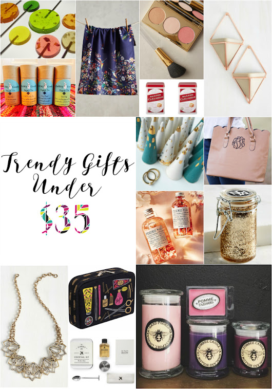 Trendy Gifts Under $35
