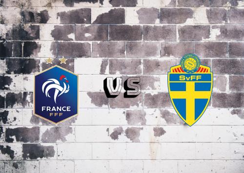 Francia vs Suecia  Resumen y Partido Completo