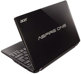 Spesifikasi dan Harga Netbook Acer Aspire One 725