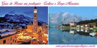 Paseios Veneza Cortina Lago Misurina - Visitar Veneza com guia em português