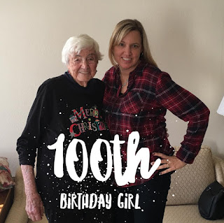 Grandmas 100th birthday