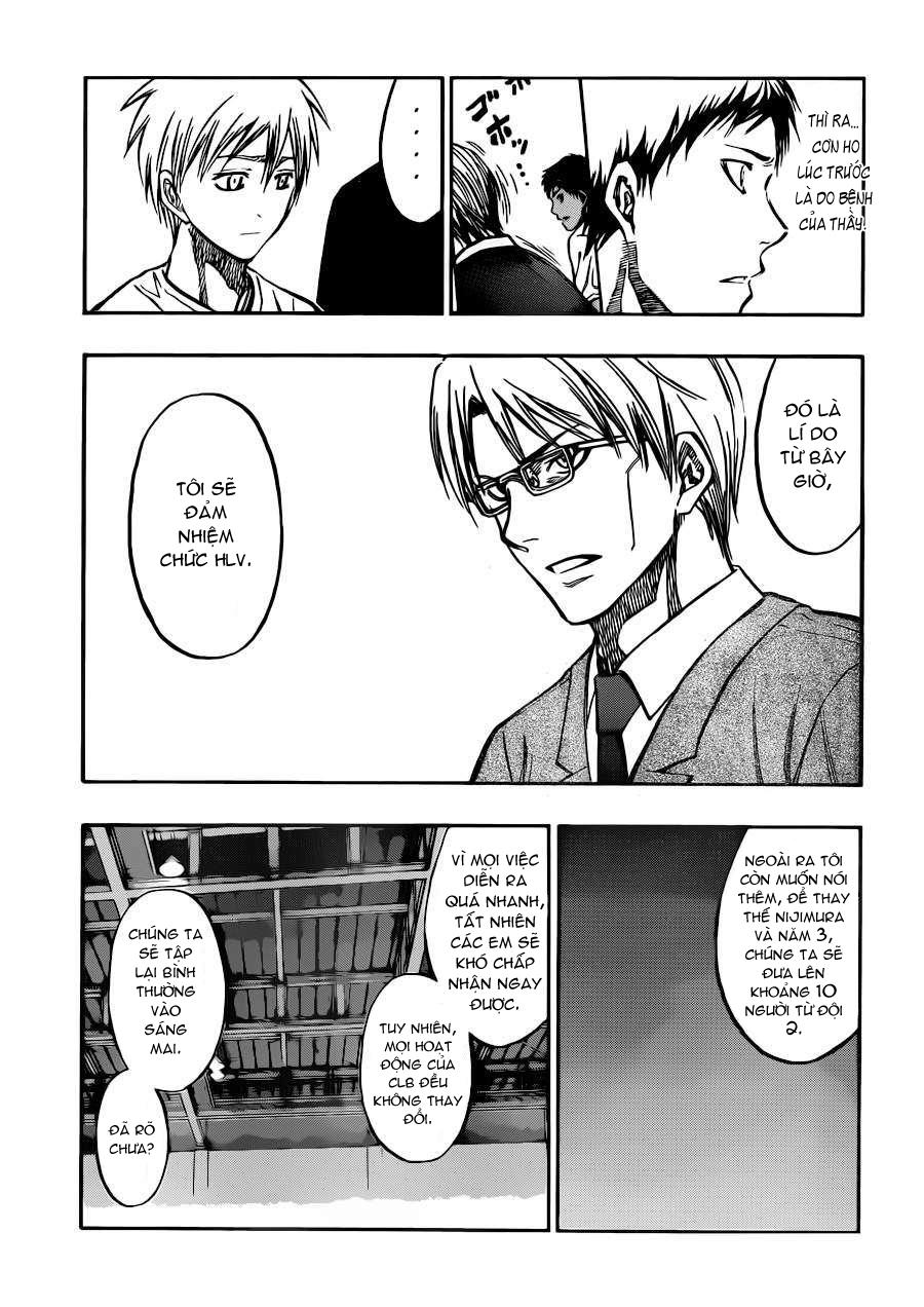 Kuroko No Basket chap 219 trang 11