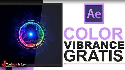Descargar Plugin Color Vibrance After Effects Gratis